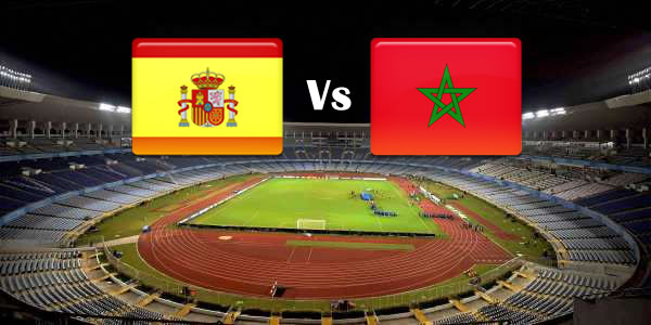 Spain Vs Morocco in World cup 2018