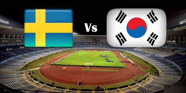 Sweden Vs South Korea World cup 2018