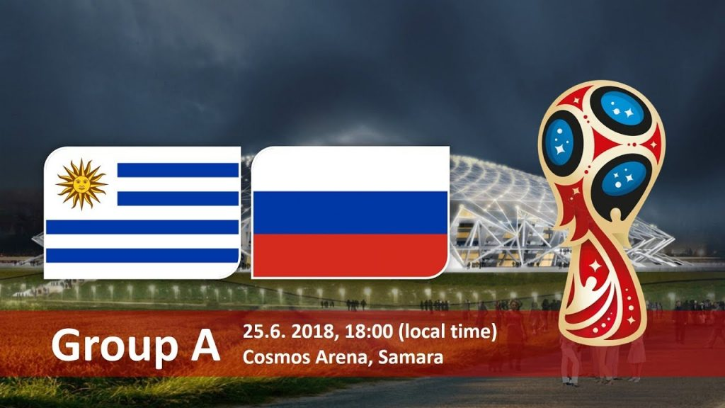 Uruguay Vs Russia in World cup 2018