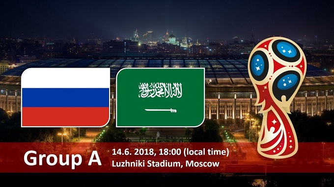 russia vs saudi arabia in FIFA world cup 2018