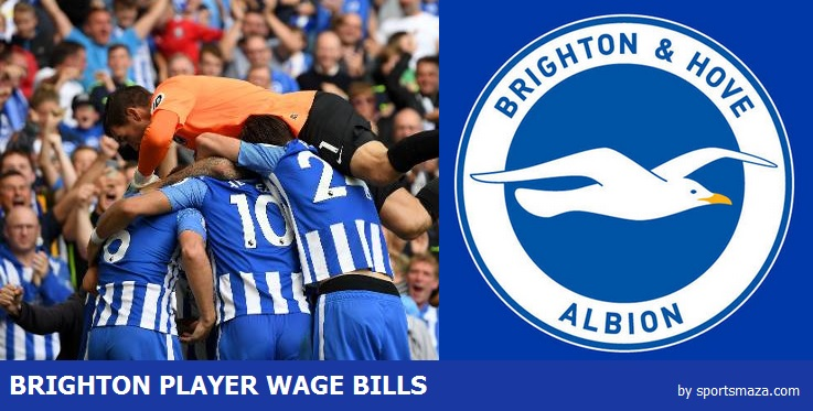 Brighton players salary