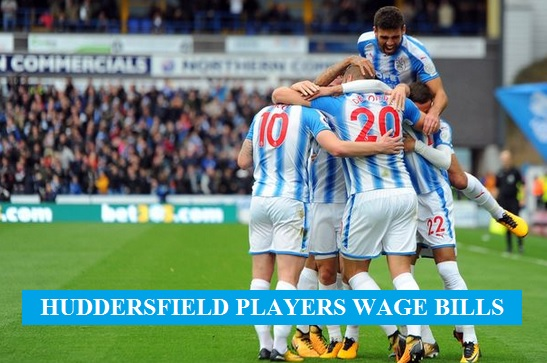 Huddersfield players salary