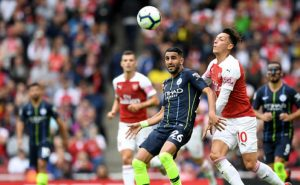 Man City earn two easy point in opening match against Arsenal