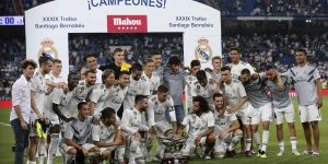 Real Madrid won Santiago Bernabeu trophy without CR7
