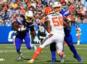 Los Angeles Chargers Vs Cleveland Brown