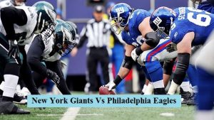 New York Giants Vs Philadelphia Eagles: Watch live streaming online