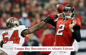 Tampa Bay Buccaneers vs Atlanta Falcons live stream