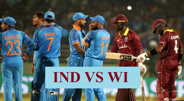 India Vs West Indies 1st T20