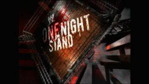 WWE One Night Stand live stream