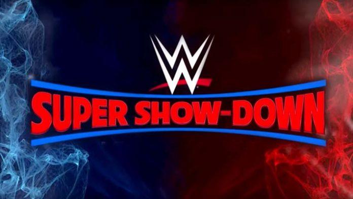 WWE Super Show-Down live stream