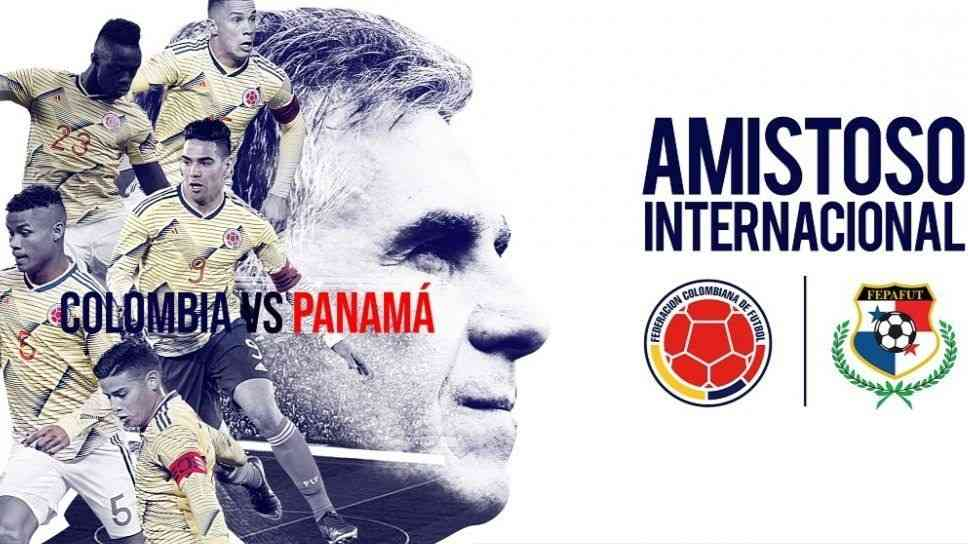 colombia vs panama, international friendly live