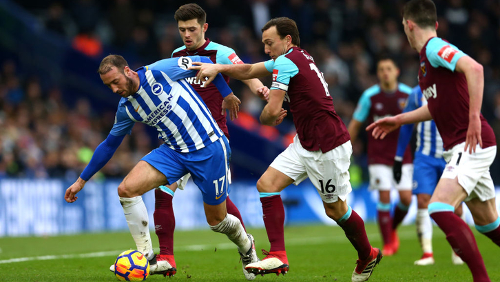 Brighton and Hove Albion v West Ham United - Premier League live streaming