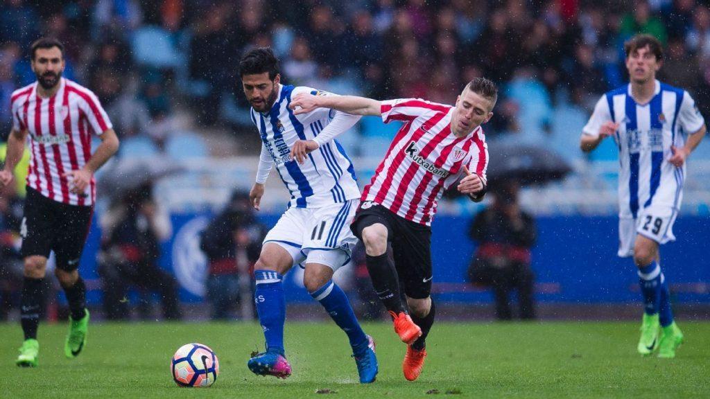 Athletic Bilbao vs Real Sociedad live streaming1