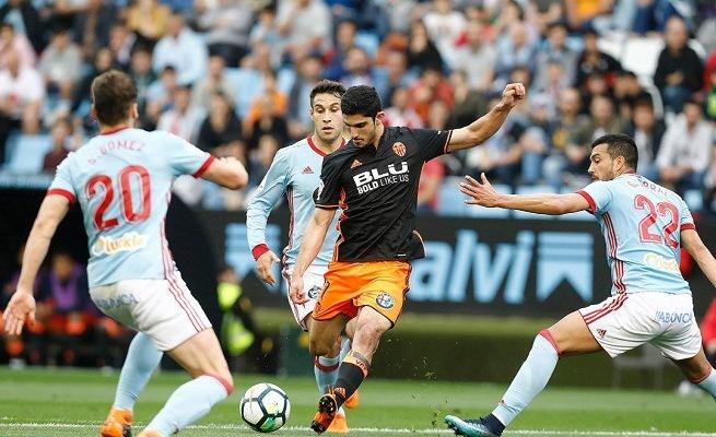 Celta Vigo vs Valencia live streaming spanish la liga1