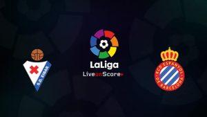 Eibar vs Espanyol match live streaming