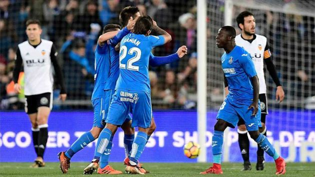 Valencia vs Getafe match live streaming la liga1