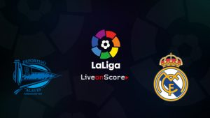 Alaves vs Real Madrid match live streaming