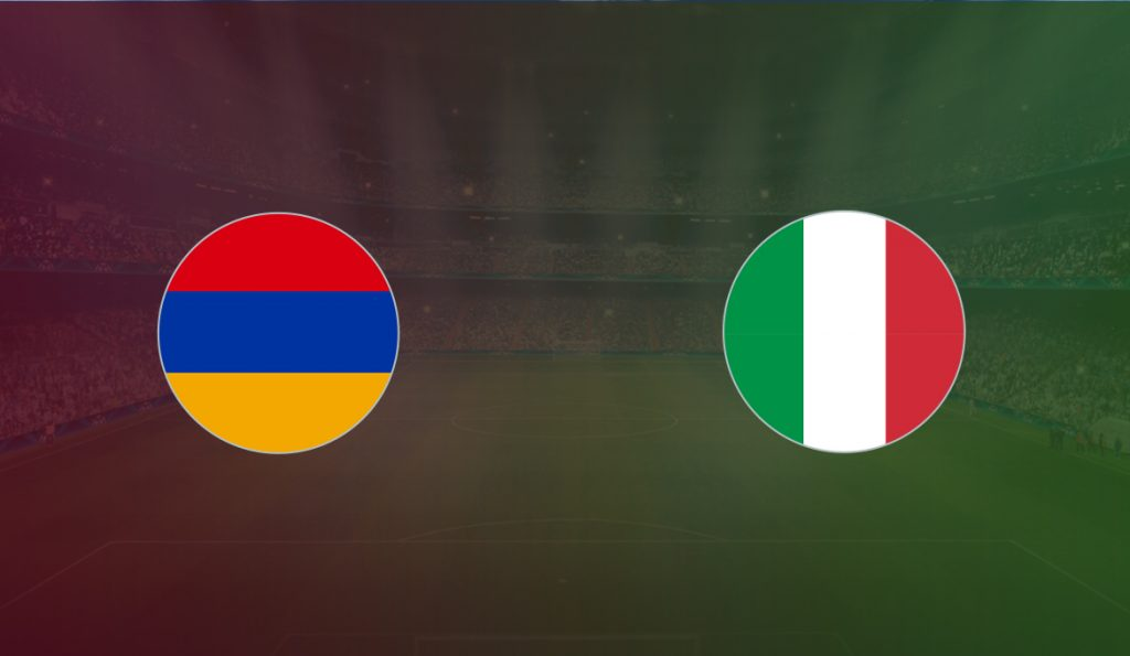 Armenia vs Italy match live streaming