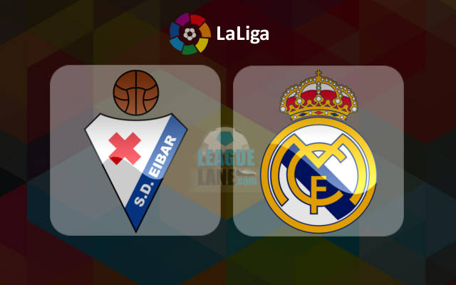 Eibar vs Real Madrid match live streaming