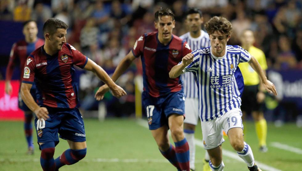 Real Sociedad vs Levante match live streaming1