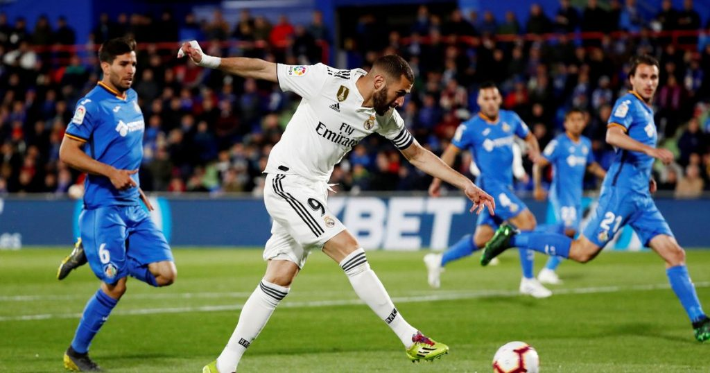 Getafe vs Real Madrid match live streaming1