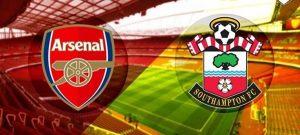 Arsenal vs Southampton match live streaming