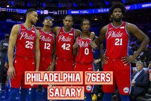 Philadelphia 76ers Salary