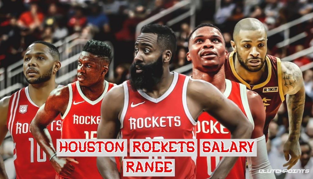 Houston Rockets Salary Range