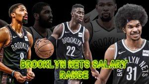 Brooklyn Nets Team Salary Range