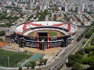 River Plate Stadium in Buenos Aires (Copa America)