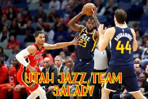 Utah Jazz Team Salary