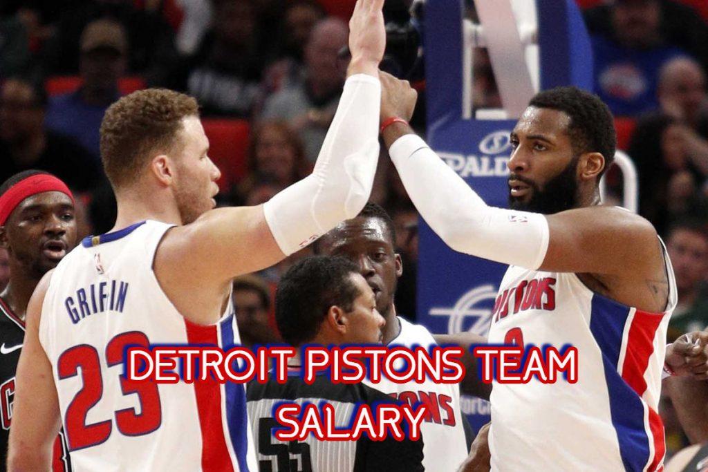 Detroit Pistons Team Salary