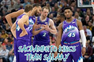 Sacramento Kings Team Salary