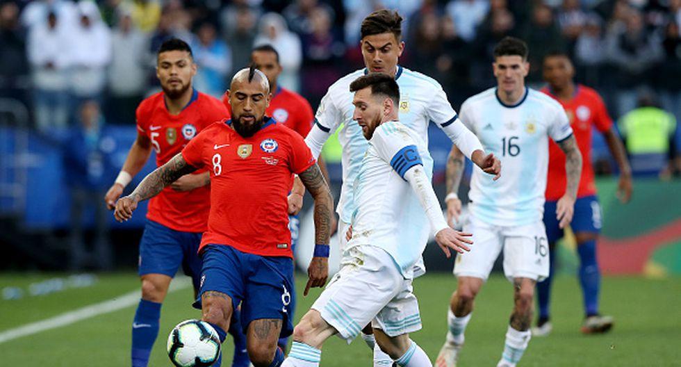 Argentina vs Chile - Copa America 2020
