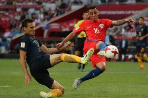 Chile vs Australia-Copa-America