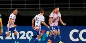 Paraguay vs Bolivia-Copa America 20