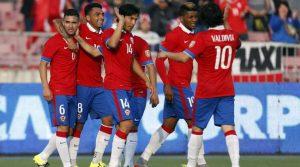 Chile vs Paraguay CA